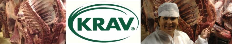 Vi är enda gården i Europa som är KRAV-, naturbetes- och klimatcertifierad.
